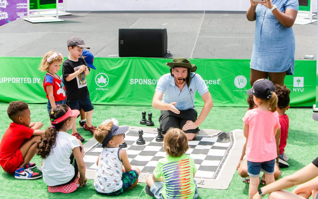 Summertime Chess is All the Rage!